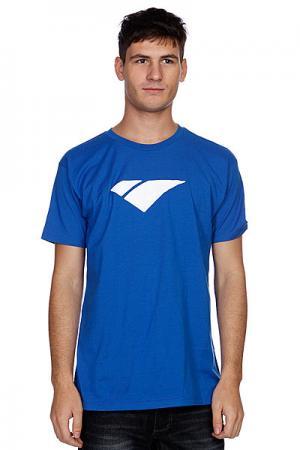 Футболка  Classic Icon Blue/White I/S Eyewear. Цвет: синий