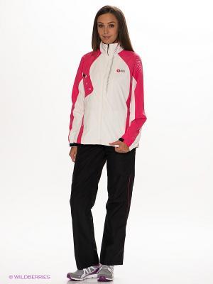 Спортивный костюм RED-N-ROCK'S. Цвет: черный, розовый, молочный
