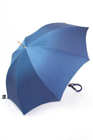 Зонт Pasotti. Цвет: синий, мультиколор