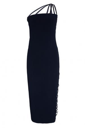 Платье Alpha Azzaro. Цвет: черный