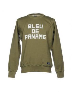 Толстовка BLEU DE PANAME. Цвет: зеленый-милитари