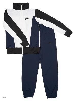 Спортивный костюм B NSW TRK SUIT PAC POLY Nike. Цвет: белый