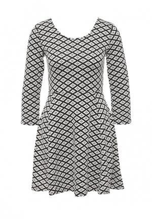 Платье Coco Nut. Цвет: черно-белый