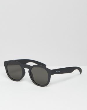 Mr Boho Солнцезащитные очки с плоскими стеклами Mr. Noord. Цвет: черный