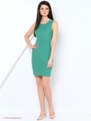 Платье EXPLOSION. Цвет: зеленый