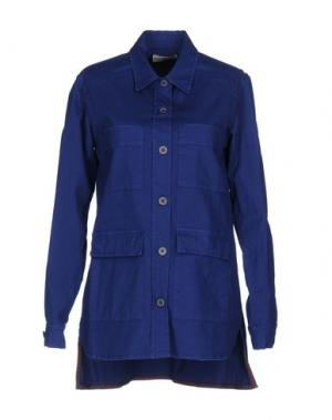Pубашка SONIA DE NISCO. Цвет: синий
