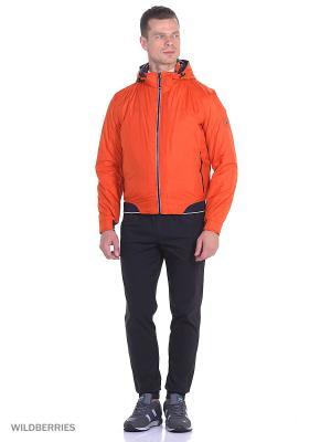 Куртка Malinardi. Цвет: оранжевый