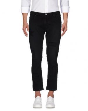 Джинсовые брюки JEORDIE'S. Цвет: черный