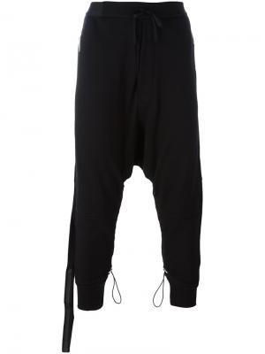 Спортивные брюки свободного кроя  Terry Unravel Project. Цвет: чёрный