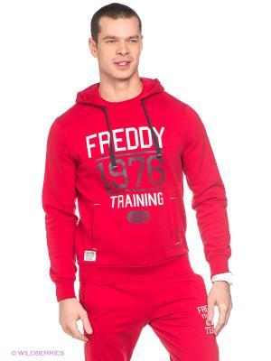 Худи Freddy. Цвет: красный