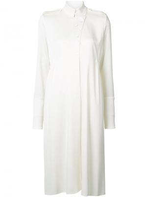 Платье-рубашка Ellery. Цвет: белый