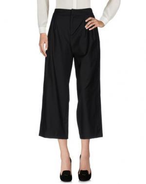 Повседневные брюки COMEFORBREAKFAST. Цвет: черный