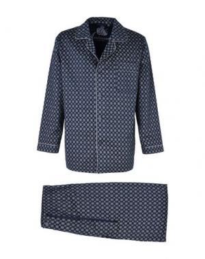 Пижама AMBASSADOR. Цвет: синий
