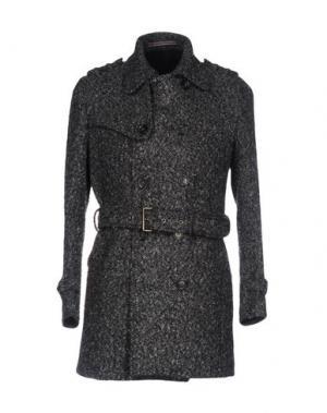 Пальто JULIAN KEEN. Цвет: свинцово-серый