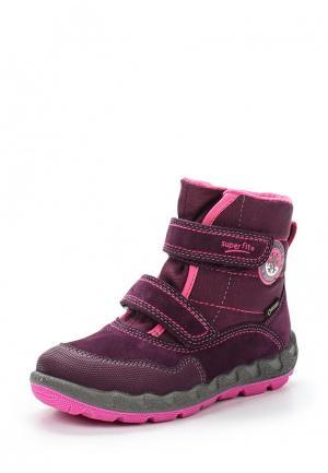 Ботинки Superfit. Цвет: фиолетовый