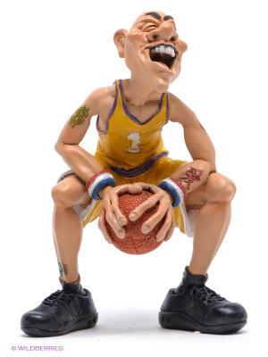 Фигурка Баскетболист В предвкушении... The Comical World of Stratford. Цвет: желтый, кремовый, оранжевый, черный