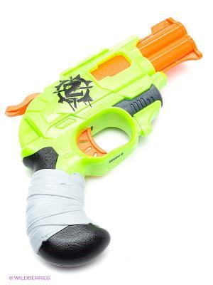 Бластер Зомби Страйк Двойная Атака Hasbro. Цвет: синий, зеленый, красный, оранжевый