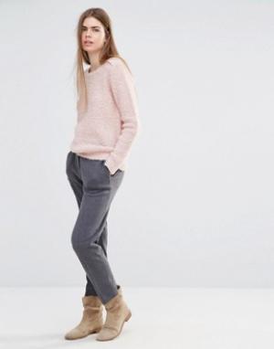 Vanessa Bruno Athé Свободные трикотажные брюки Athe. Цвет: серый