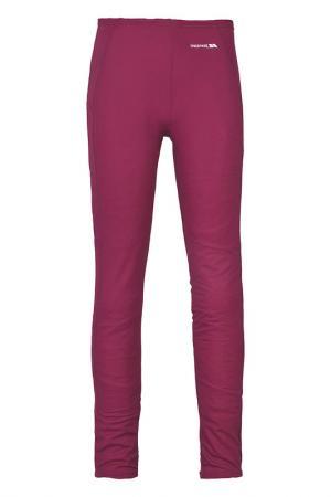 Термо брюки Trespass. Цвет: красный