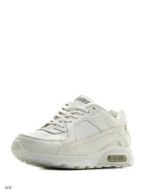 Спортивные кроссовки Ascot. Цвет: белый