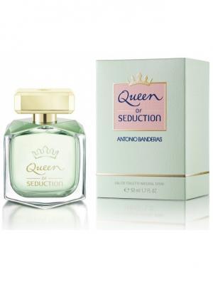 Queen Of Seduction lady edt 50 ml ANTONIO BANDERAS. Цвет: салатовый