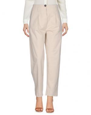 Повседневные брюки TELA. Цвет: бежевый
