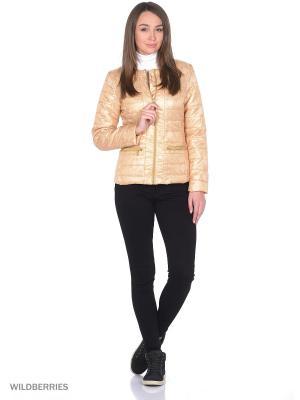 Куртка Stayer. Цвет: золотистый