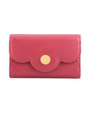 Бумажник SEE BY CHLOÉ. Цвет: пурпурный