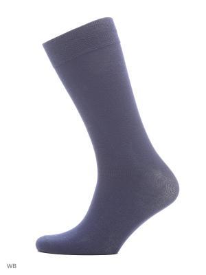 Классические премиум носки (2 пары) HOSIERY. Цвет: темно-синий