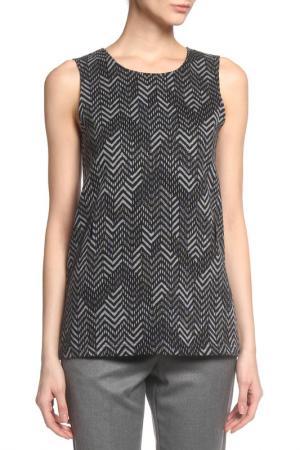 Блузка-топ Caractere. Цвет: серый