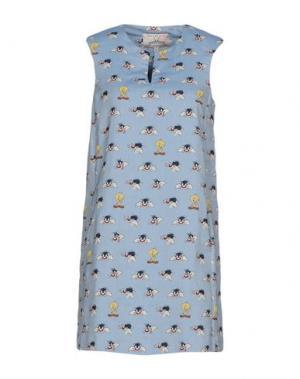 Короткое платье PAUL & JOE SISTER. Цвет: синий
