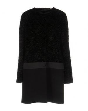Легкое пальто BORBONESE. Цвет: черный