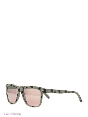 Солнцезащитные очки TOUCH. Цвет: серый