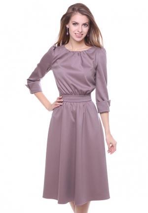 Платье Olivegrey. Цвет: розовый