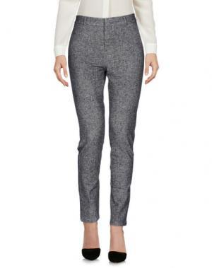 Повседневные брюки CIRCOLO 1901. Цвет: серый