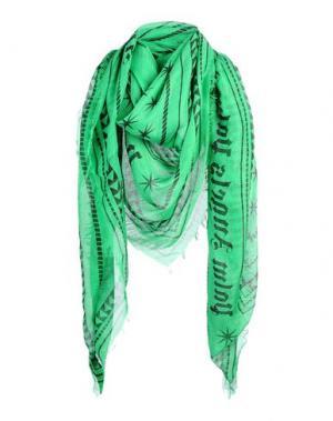 Платок PALM ANGELS. Цвет: изумрудно-зеленый