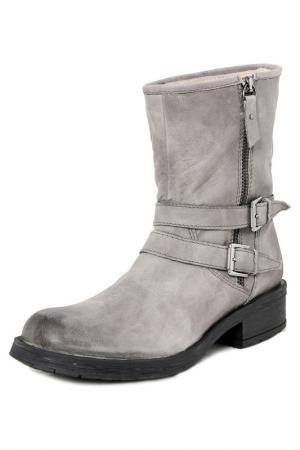 Boots GIANNI GREGORI. Цвет: gray