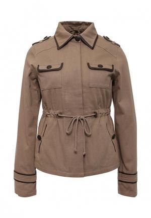Куртка Kookai. Цвет: бежевый