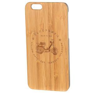 Чехол для iPhone  Мопед Дерево 6/6s Коричневый Запорожец. Цвет: коричневый