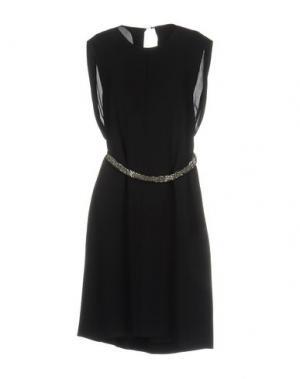 Платье до колена DICE KAYEK. Цвет: черный