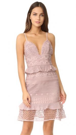 Платье Drew Saylor. Цвет: розовый