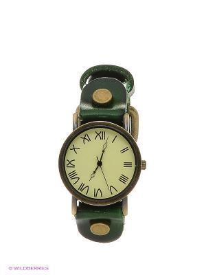 Часы Kawaii Factory. Цвет: зеленый