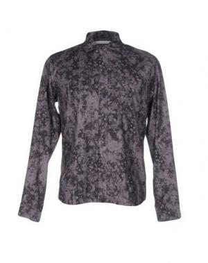 Pубашка WHITE MOUNTAINEERING. Цвет: серый