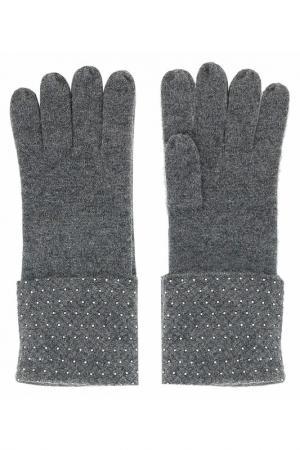 Перчатки William Sharp. Цвет: темно-серый
