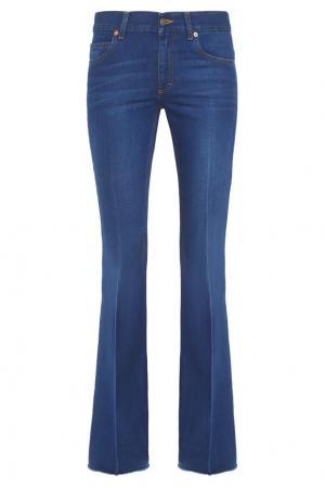 Расклешенные джинсы Gucci. Цвет: синий