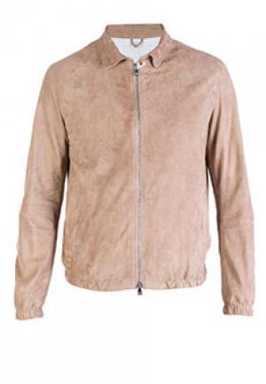 Куртка LUIGI BORRELLI. Цвет: бежевый
