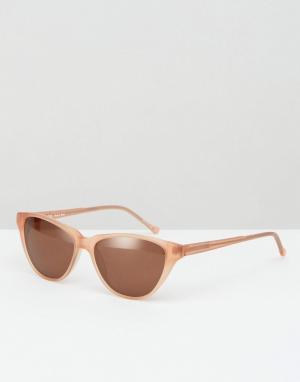 Kaibosh Солнцезащитные очки кошачий глаз. Цвет: оранжевый