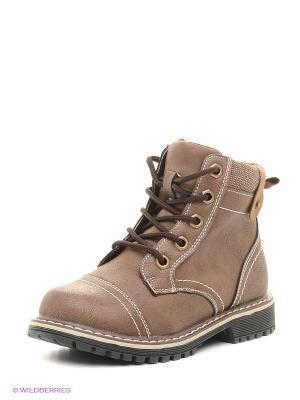 Ботинки Indigo kids. Цвет: коричневый