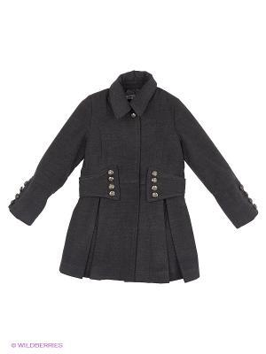 Пальто De Salitto. Цвет: серый