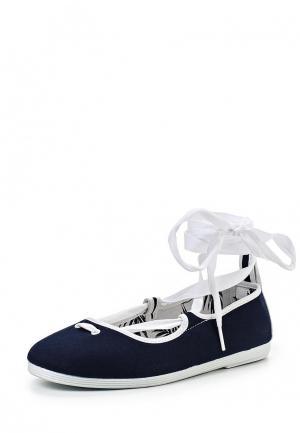 Туфли Flossy Style. Цвет: синий